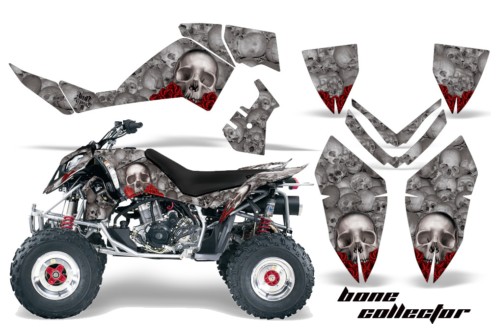 Polaris Atv Quad Graphic Sticker Kit For Outlaw 450 500 525