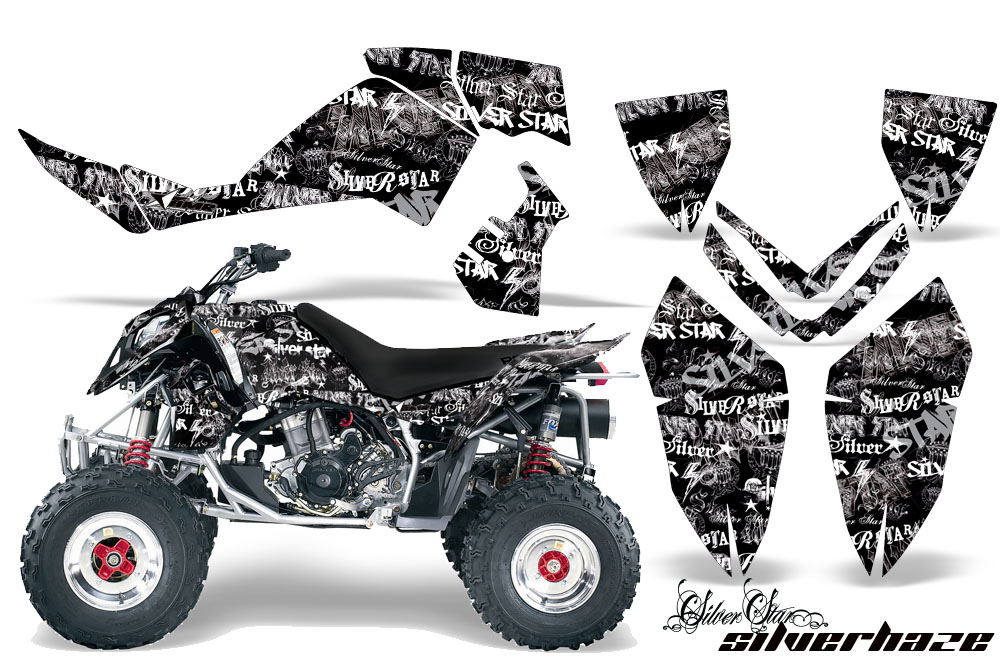 Polaris ATV Quad Graphic Sticker Kit for Outlaw 450/500/525