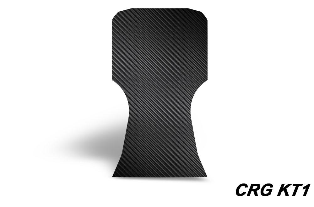Floor Tray Kart Graphic - Black Carbon Fiber (select model ...