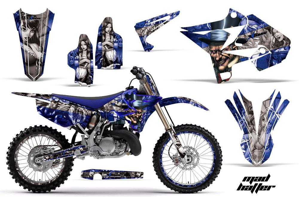 Yamaha Yz 125  250 Dirt Bike Graphic Kit  2002-2015