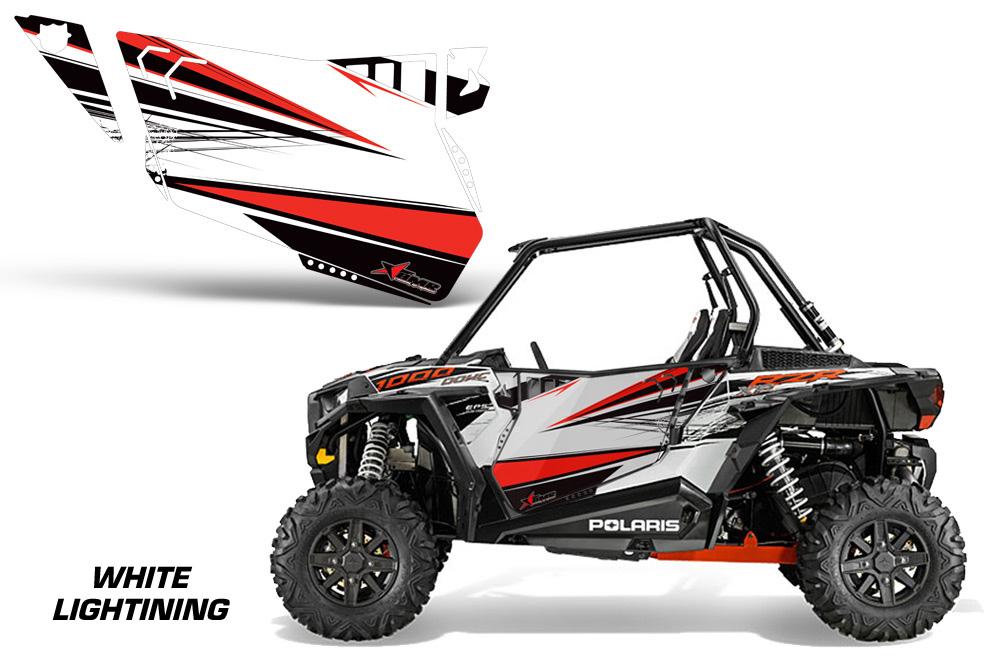 Amr Racing Door Graphics Kit For Polaris Rzr 1000 1000xp