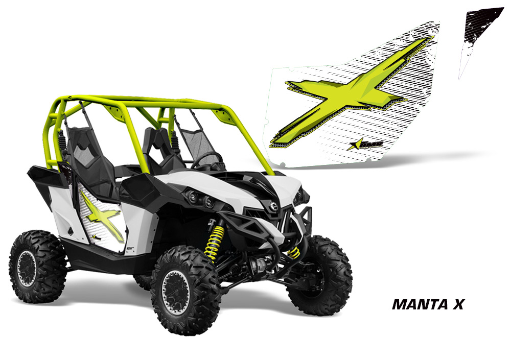 sc 1 st  AMR Racing & AMR Racing Door Graphics Kit for Can Am Maverick UTV 2 Door Model