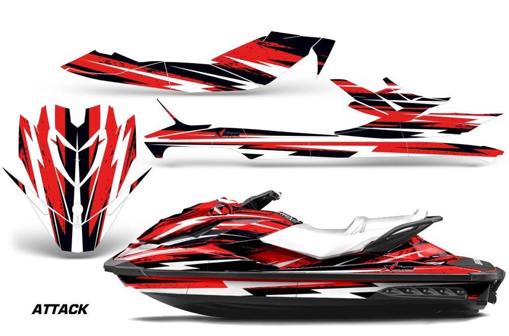 Sea Doo Gti 130 >> Sea Doo GTI/GTR/GTS H Jet Ski Graphic wrap decal Kit 2011-2018. SeaDoo Deal Kits