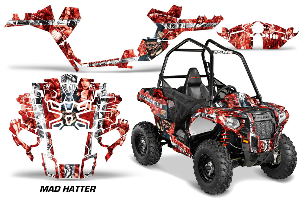 Polaris Sportsman ACE 325 570 ATV Quad Graphic Kit - 2014-2016