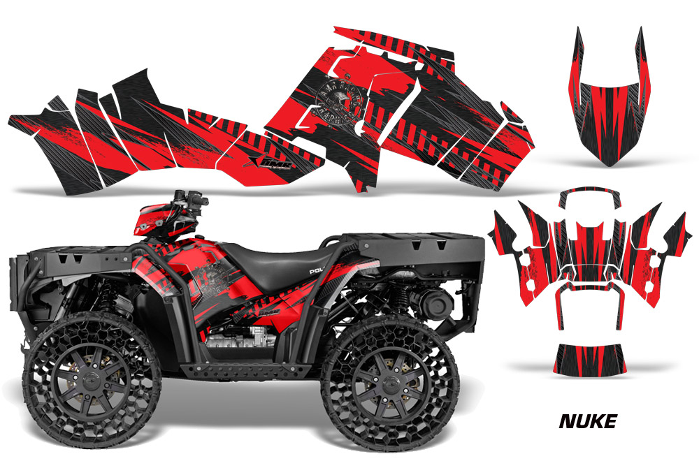 Polaris Sportsman Wv850 Atv Quad Graphic Kit Wv 2012 2015