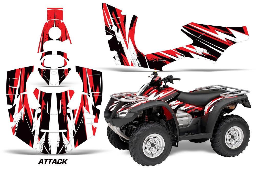 honda rincon trx 680 atv graphic kit   2006 2014