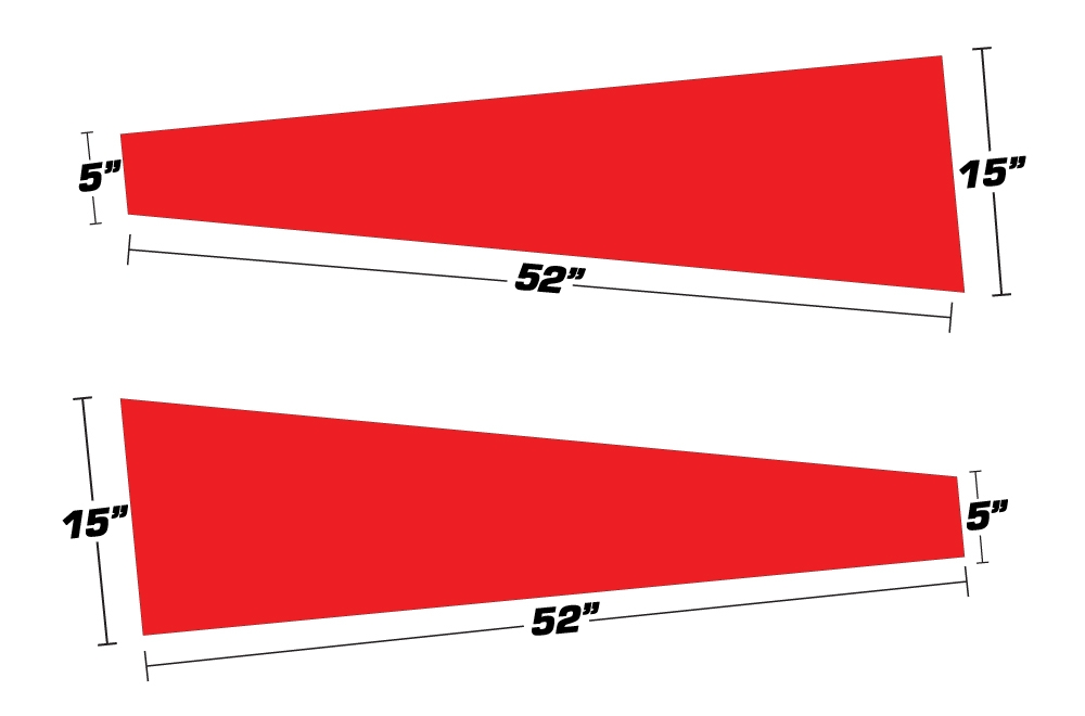 Sled Tunnel Graphics - Universal Trim to Fit