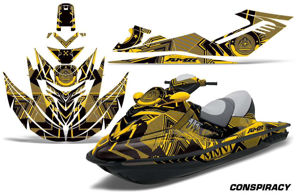 Sea Doo Rxt Jet Ski Graphic Wrap Decal Kit 2005 2009