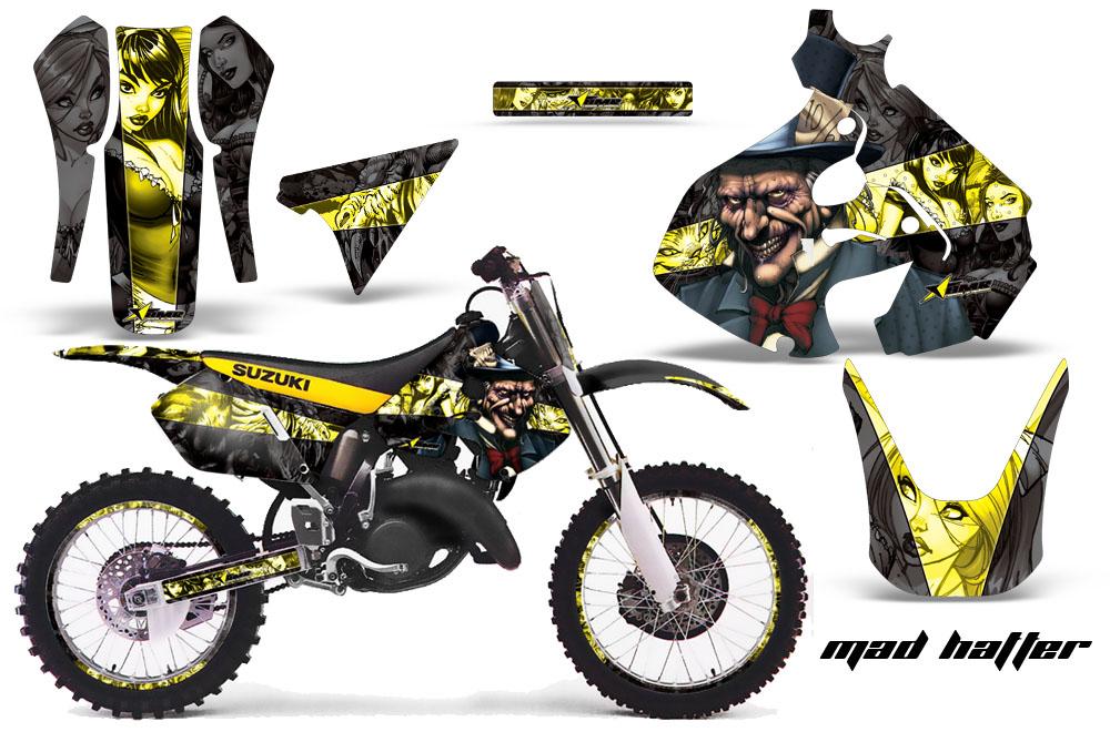 Suzuki Motocross Graphics Kit Suzuki Mx Graphics Sticker Html Autos Weblog