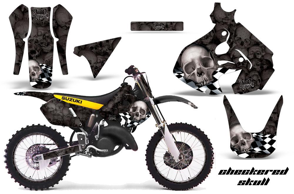 suzuki rm 125 dirt bikes graphic kit 1999
