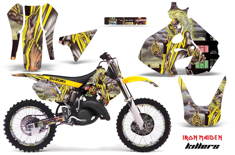Suzuki Motocross Graphics Kit Suzuki Mx Graphics Sticker