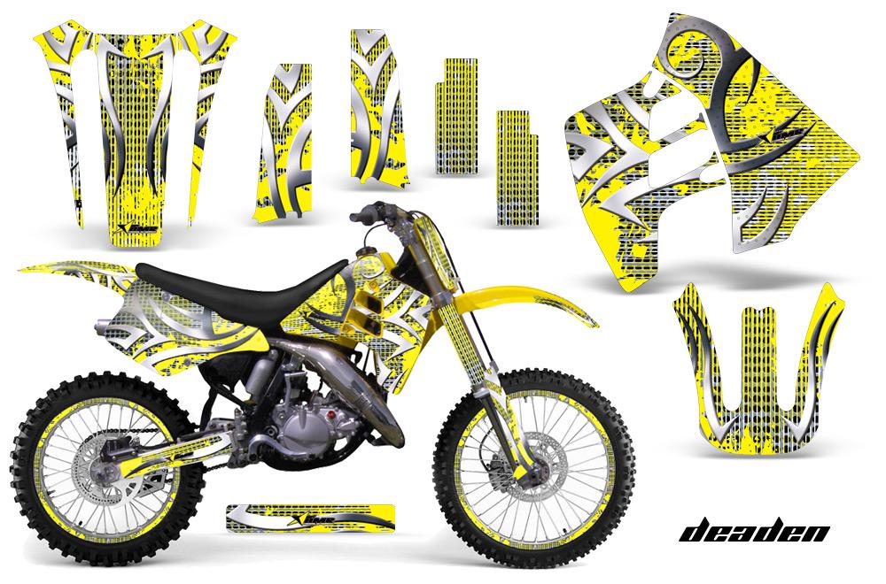 Suzuki Motocross Graphics Kit Suzuki Mx Graphics Sticker Kit For