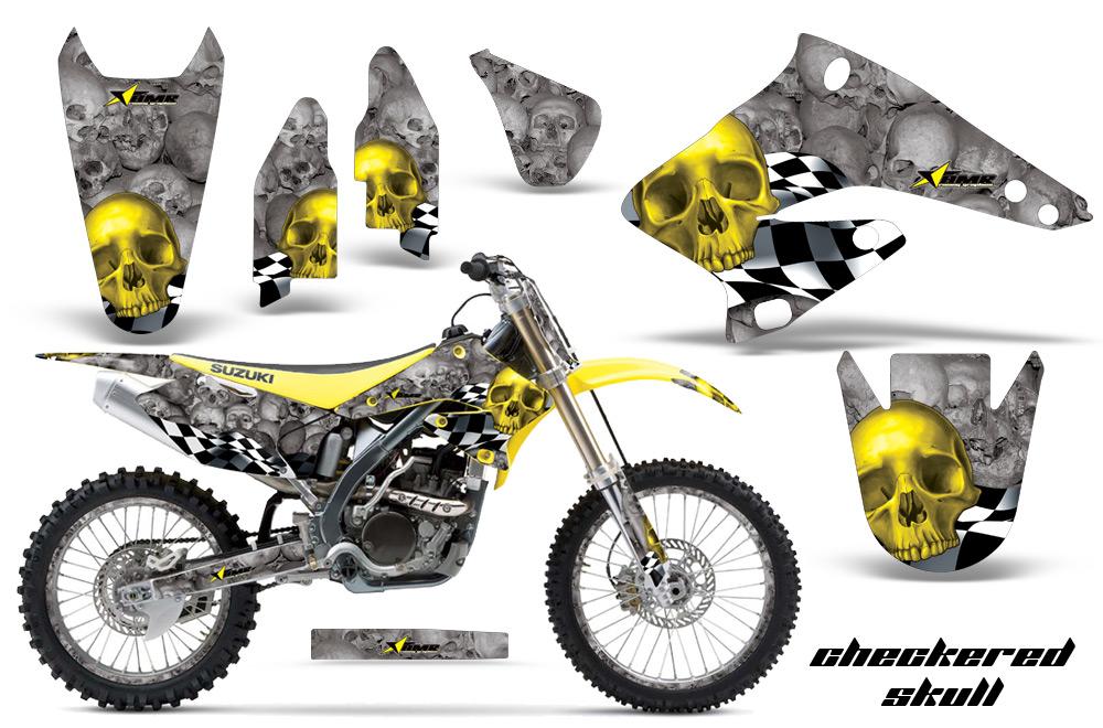 Suzuki Motocross Graphics Kit - Suzuki MX Graphics sticker