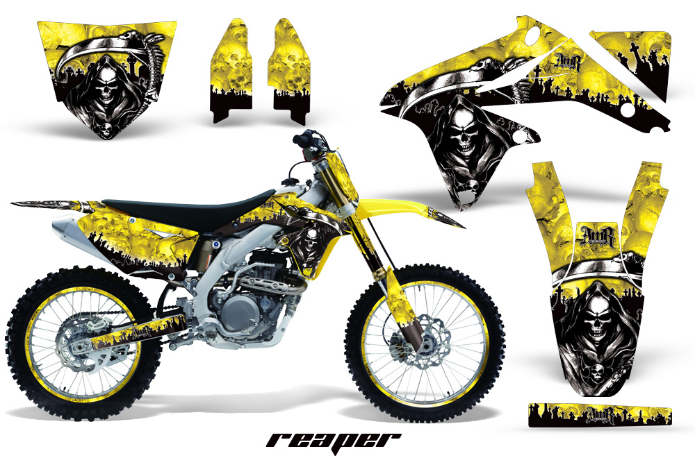 Suzuki Rmz 450 Dirt Bikes Graphic Kit 2008 2016