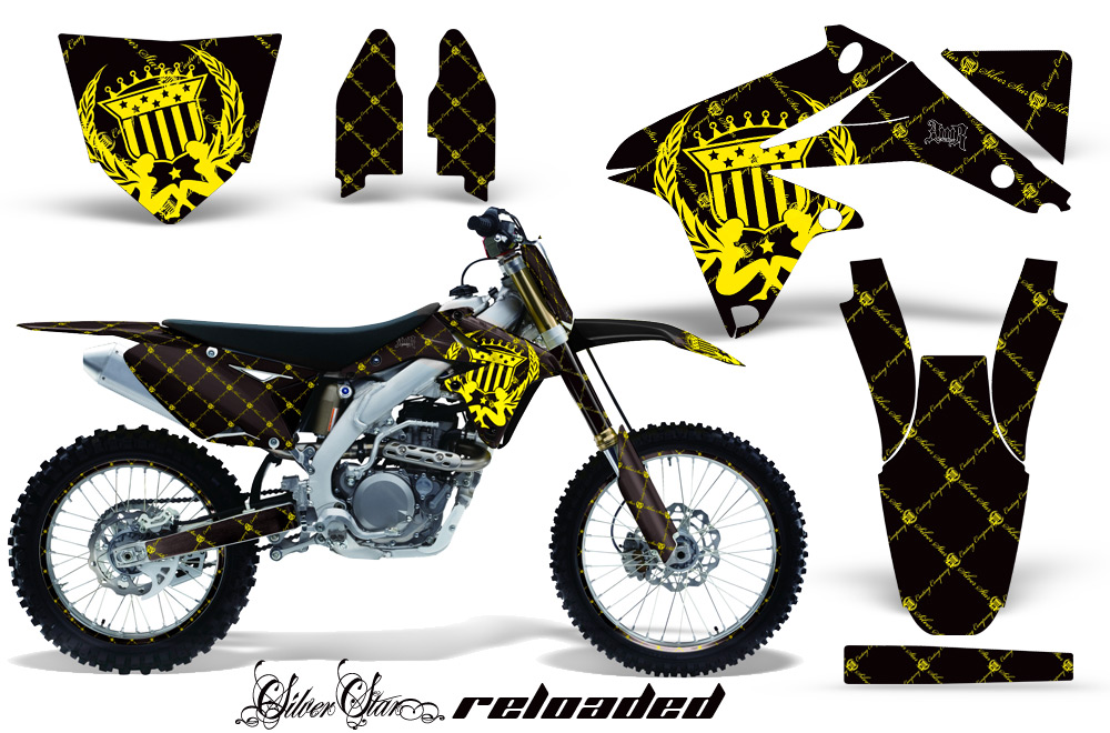 Suzuki motocross graphics kit suzuki mx graphics sticker kit for suzuki rmz 450 2008 2015