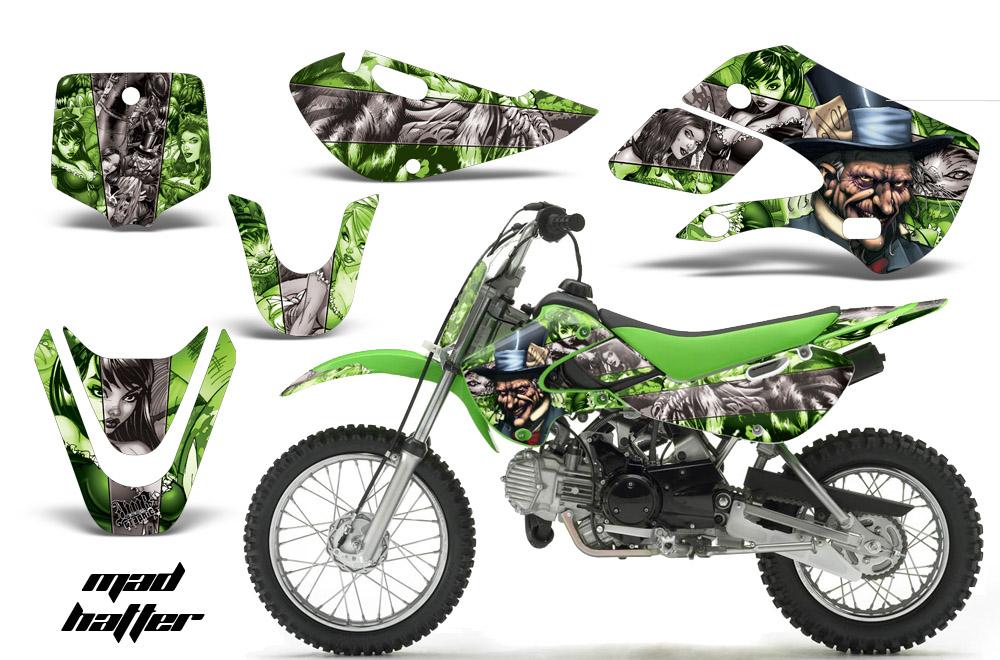 Suzuki Motocross Graphics Kit - Suzuki MX Graphics sticker kit for ...