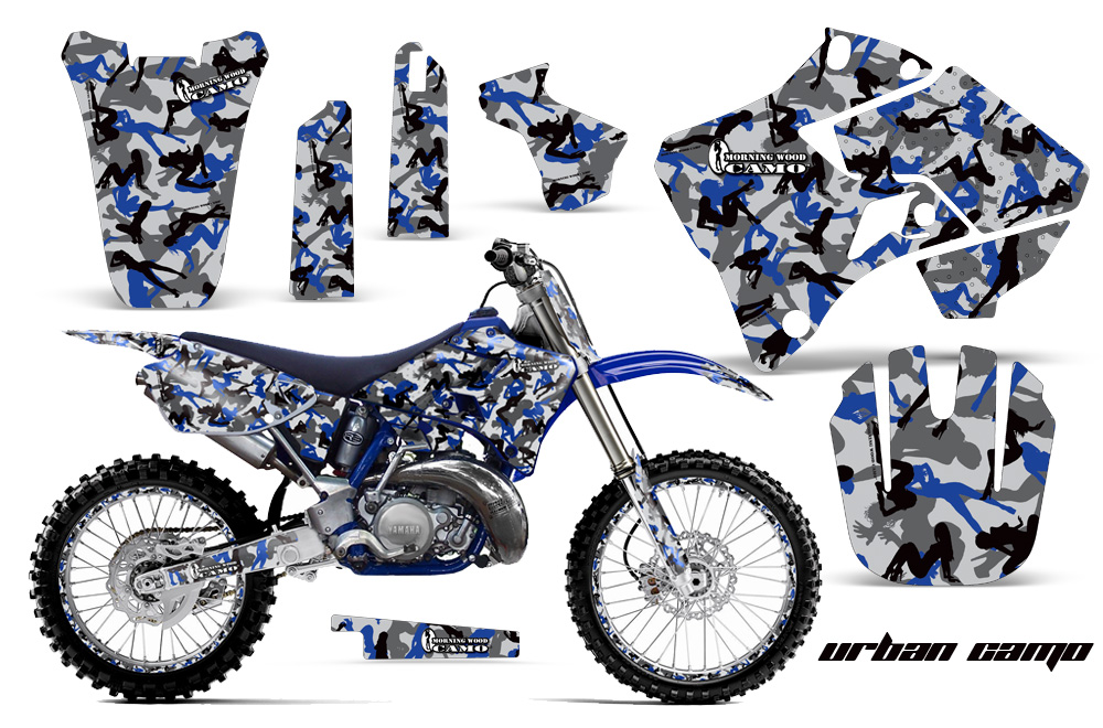Yamaha Motocross Graphic Sticker Kit Yamaha Mx Yz250 Yz125
