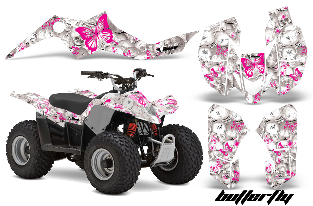 Suzuki Ltz 50 Atv Quad Graphic Kit 2006 2009 597 on suzuki golf cart