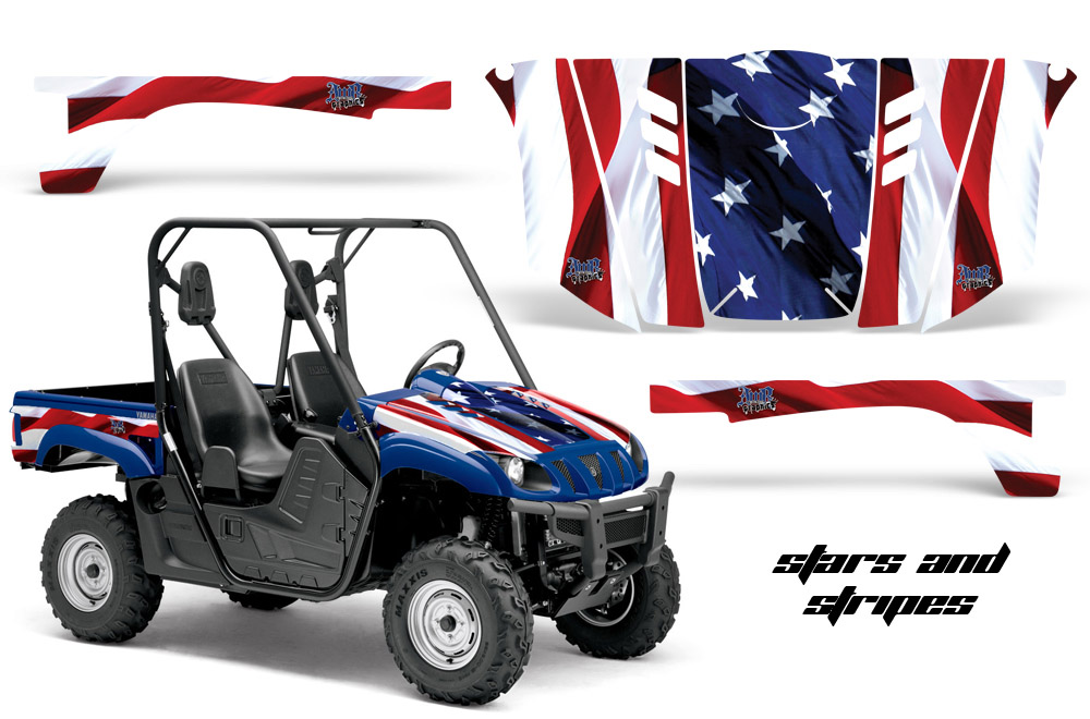 Yamaha Rhino 700 660 450 Utv Graphic Kit