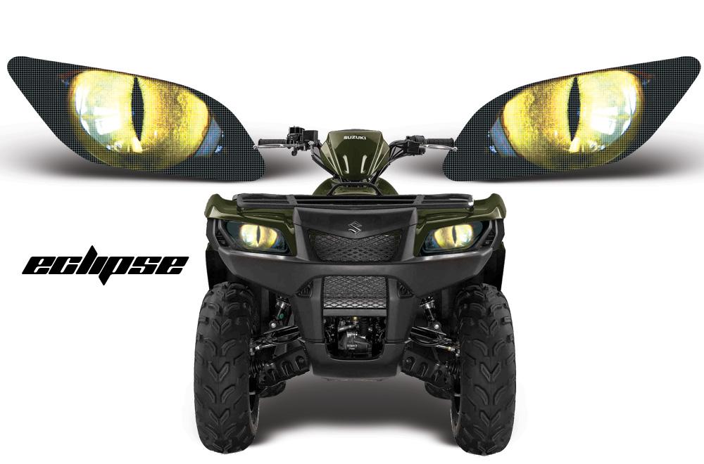 Head Light Eye Graphics for Suzuki King Quad, 7 Designs to ... Yamaha Parts