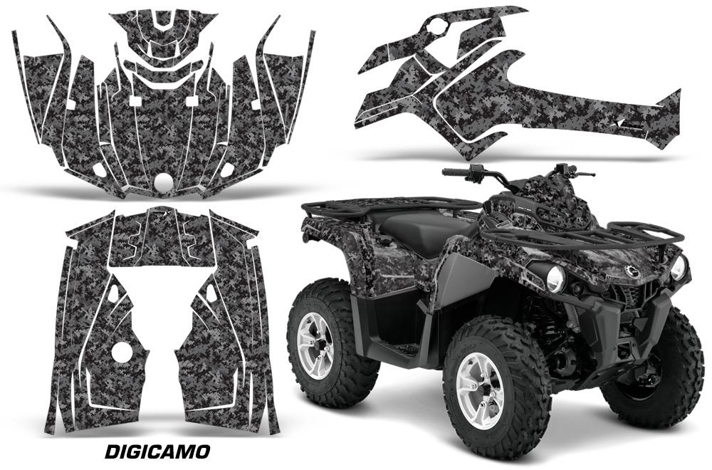 Can Am Outlander L 2014 2017 Atv Quad Graphic Kit