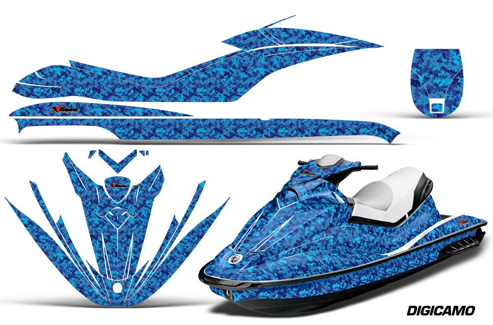 Sea Doo GTI Jet Ski Graphic wrap decal Kit 2006-2010. SeaDoo Deal Kits