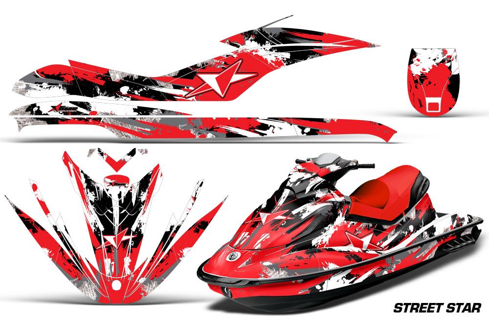 sea doo gti jet ski graphic wrap decal kit 2006 2010 seadoo deal kits. Black Bedroom Furniture Sets. Home Design Ideas