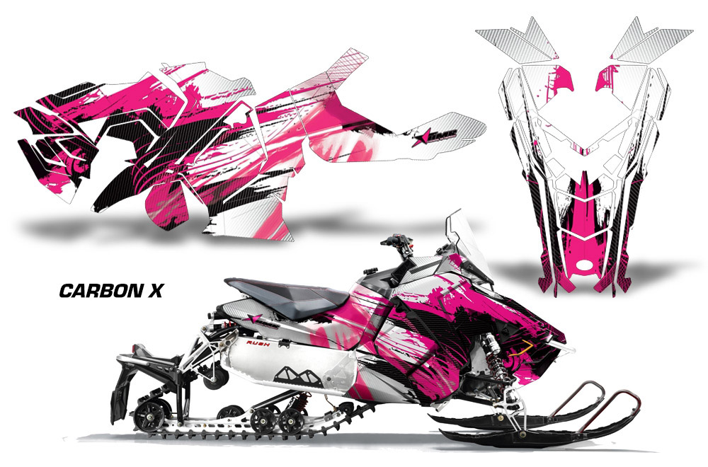 Polaris 2015 Axys Snowmobile Sled Graphic Decal Sticker Kit