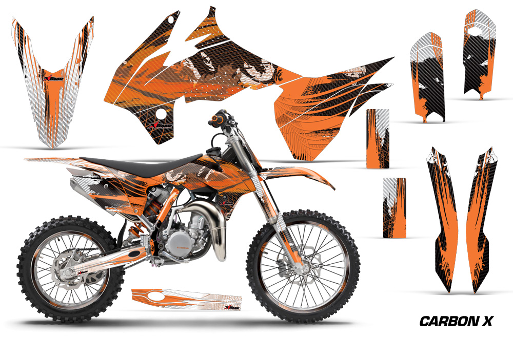 ktm sx 85 motocross graphic decal sticker kit ktm mx stickers for sx85 2013 2015. Black Bedroom Furniture Sets. Home Design Ideas
