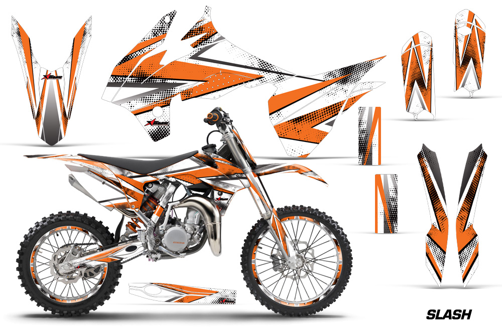 Ktm sx 85 motocross graphic decal sticker kit ktm mx stickers for sx85 2013 2015
