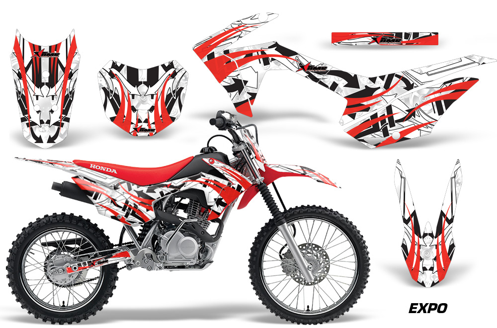 Honda Crf125f Graphic Kit Stickers And Decals Honda