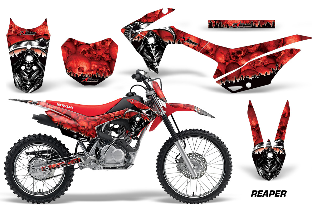 honda crf125f graphic kit stickers and decals honda crf 125f graphics. Black Bedroom Furniture Sets. Home Design Ideas