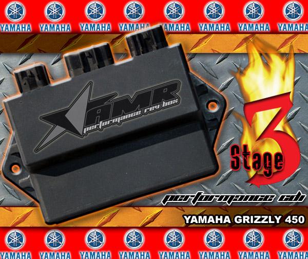 Yamaha Grizzly 450 >> Yamaha Wolverine 450 Performance CDI Rev Box (all years)