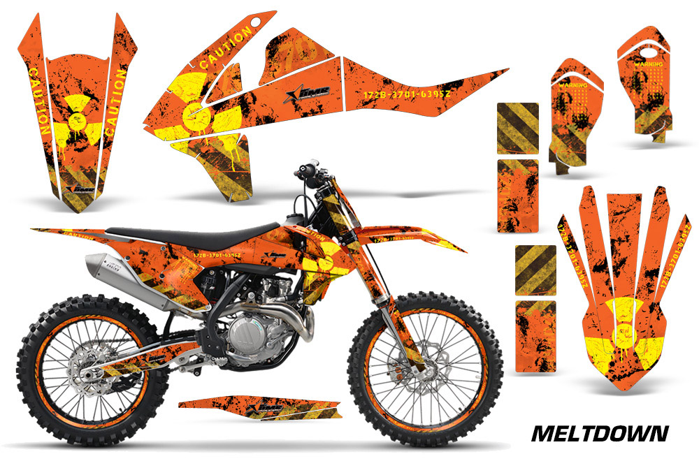 2016 SX FXC F 250 350 450 KTM Motocross Graphic Decal