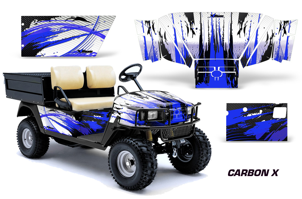 Custom EZGO Workhorse Golf Cart Graphics. Wrap kits in ...