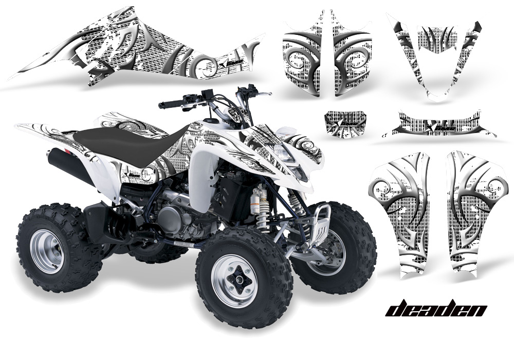suzuki ltz 400 quad atv graphic decal sticker kit. Black Bedroom Furniture Sets. Home Design Ideas