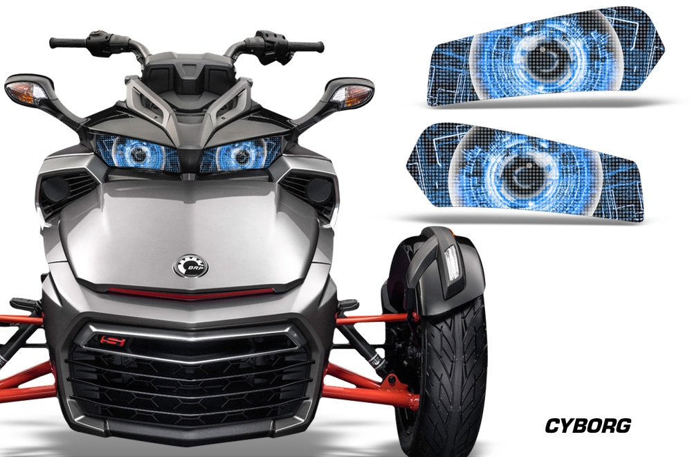 Head Light Eye Graphics For Can Am Spyder F3 Roadster 2015