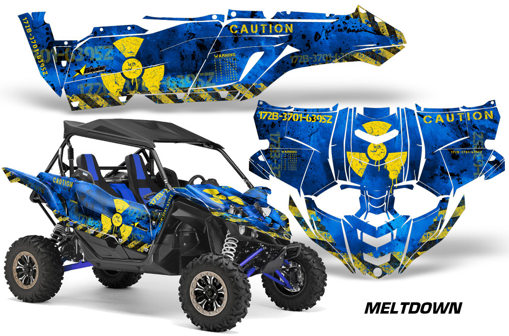 Decal Graphic Sticker Kit For Yamaha Yxz 1000r Utv Side By