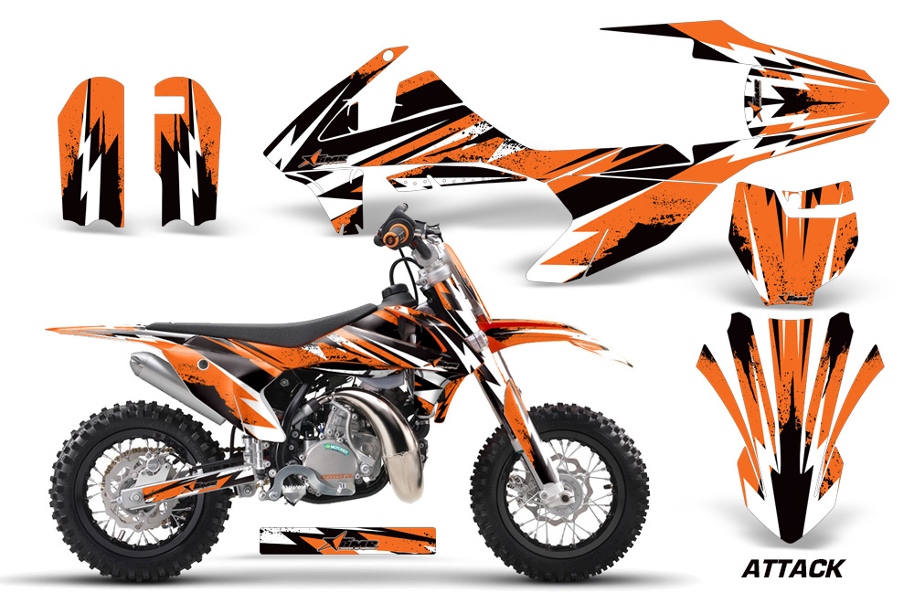 2016 KTM SX50 Graphics Kit   Over 40 Designs available! KTM