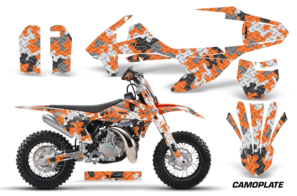 Ktm Sx50 Adventurerjrsr Motocross Graphic Kit 2016 814on Arctic Cat Atv Accessories