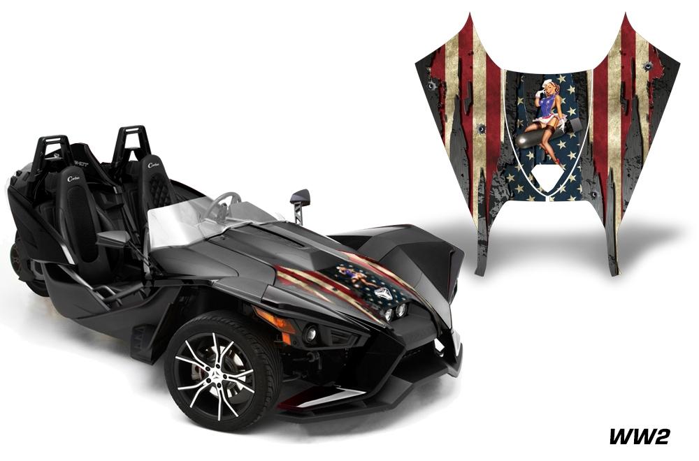 Decal Graphic Sticker Kit For Polaris Sligshot Sl Roadster