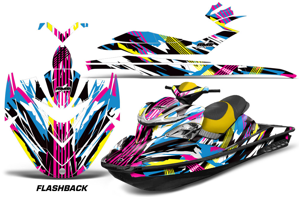 Sea Doo Rxp Sitdown Jet Ski Graphic Wrap Kit 2004 2011