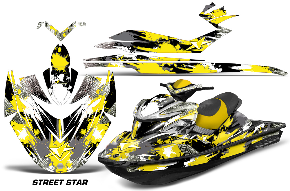 Sea Doo Rxp Jet Ski Graphic Kit 2004 2011 Over 40 Designs To Choose From