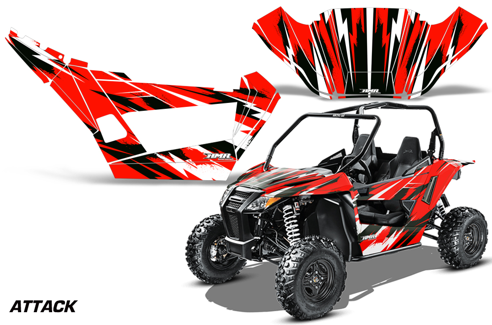 Arctic Cat Wildcat Side X Side Utv Graphic Decal Kit For