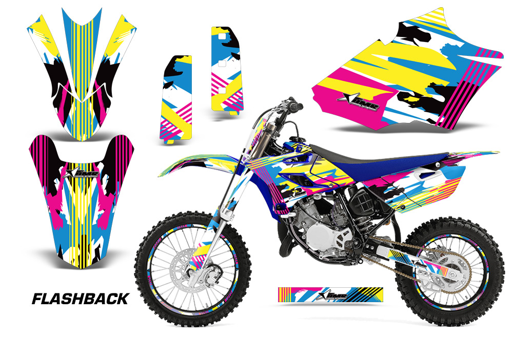 Yamaha Yz 85 Motocross Graphic Kit 2015 2018