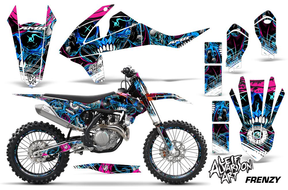 2016 sx/sx-f/xc-f 125-450 ktm motocross graphic decal sticker kit