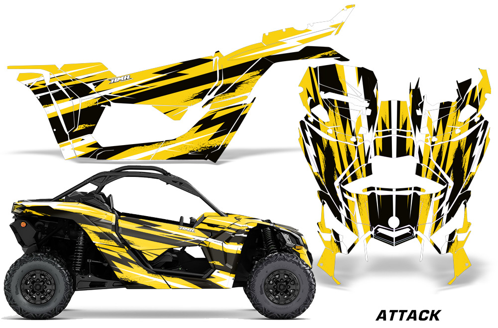 Can Am Maverick X3/X DS/ X RS UTV Graphic Wrap FULL Kit
