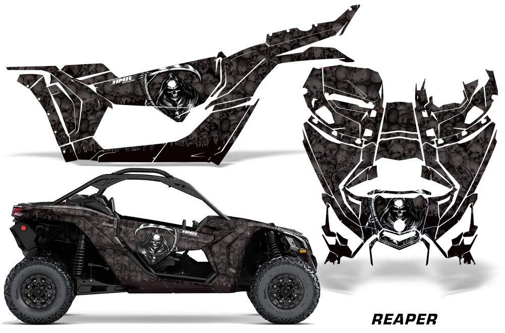 Can Am Maverick Graphics! X3 X DS X RS UTV Side x Side Graphics Decal Kit X rs - 2016
