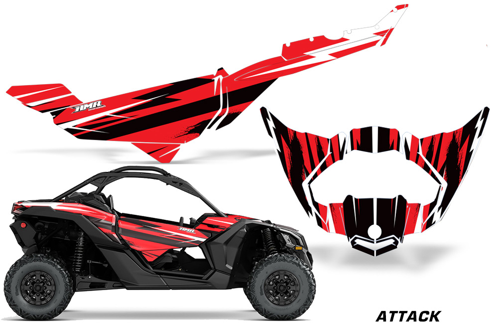 Can Am Maverick Graphics! X3 X DS X RS UTV Side x Side