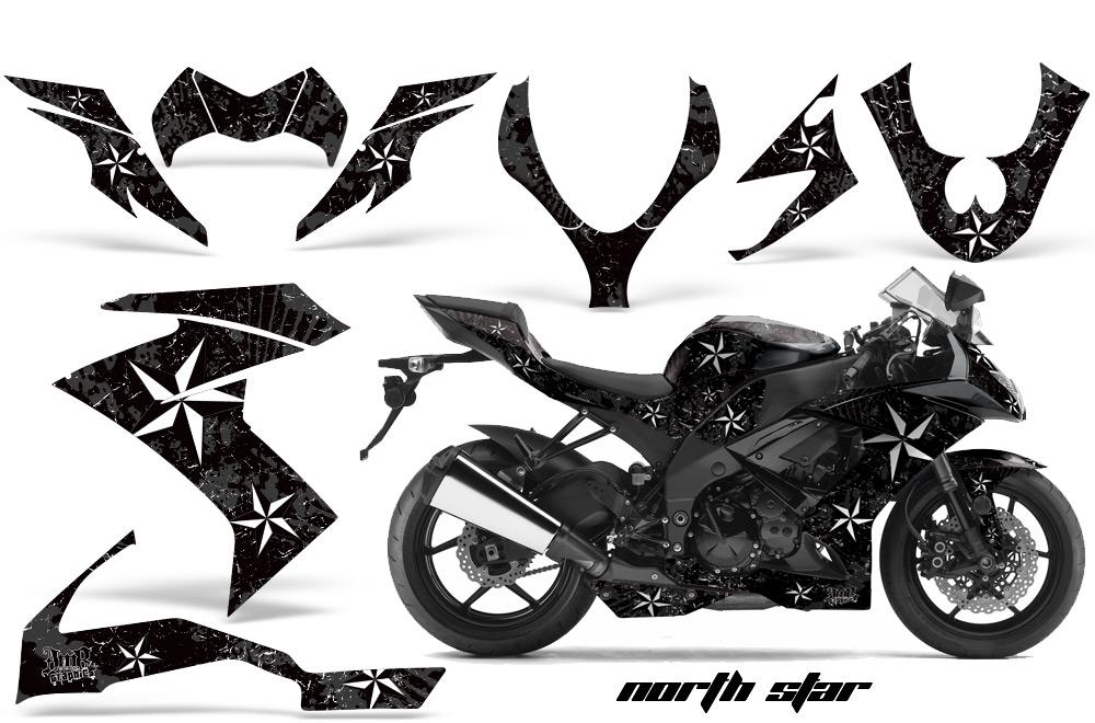 2008 2009 2010 kawasaki zx10 ninja street bike graphic